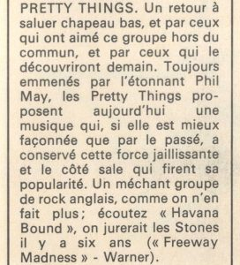 Critique de Freeway Madness dans Rock & Folk