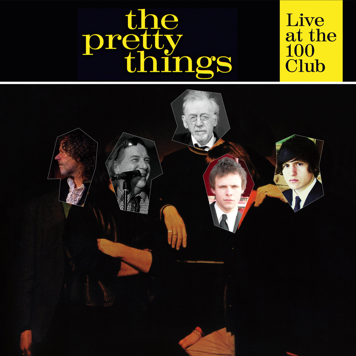 Pochette de l'album Live at the 100 Club.