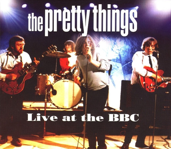 Pochette de l'album Live at the BBC.