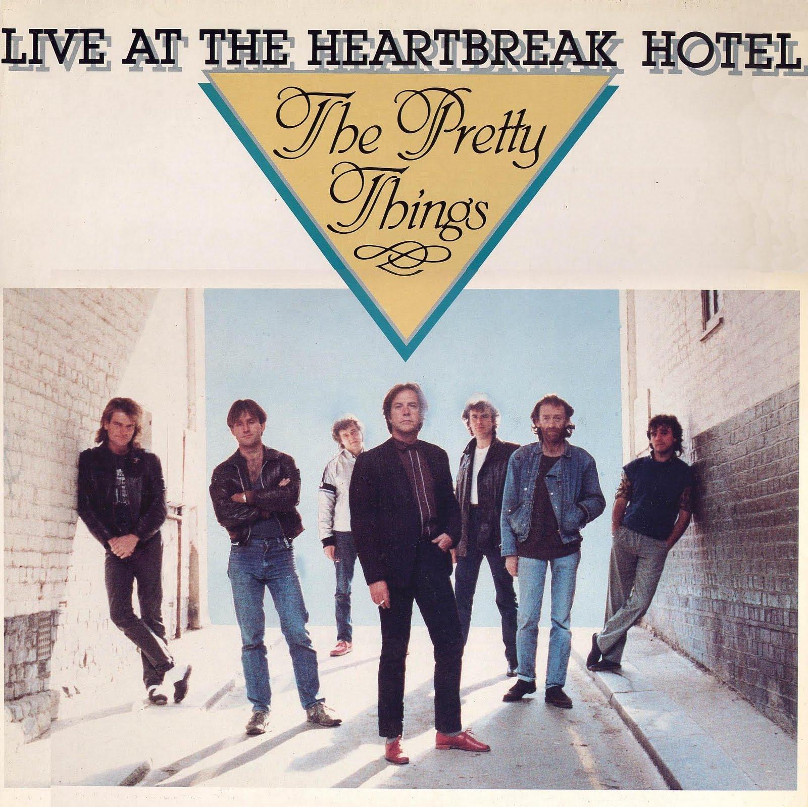 Pochette française de l'album Live at the Heartbreak Hotel.