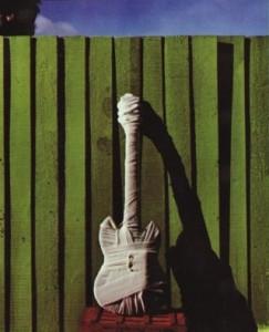 Guitare momifiée
