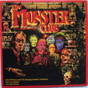 Pochette de l'album The Monster Club.