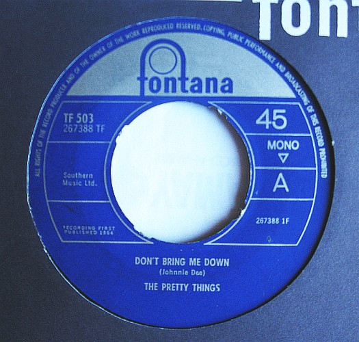 Pochette du 45 tours Don't Bring Me Down / We'll Be Together.