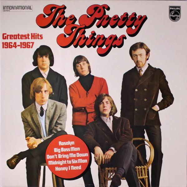 Pochette de l'album Greatest Hits 1964-1967.