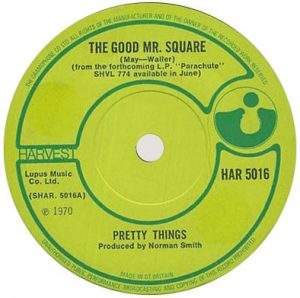 Matrice du 45 tours The Good Mr. Square / Blue Serge Blues.