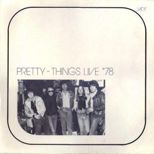 Pochette de l'album Live '78.