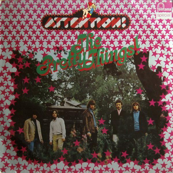 Pochette de l'album Attention! The Pretty Things!