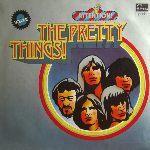 Pochette de l'album Attention! The Pretty Things! Vol. 2.