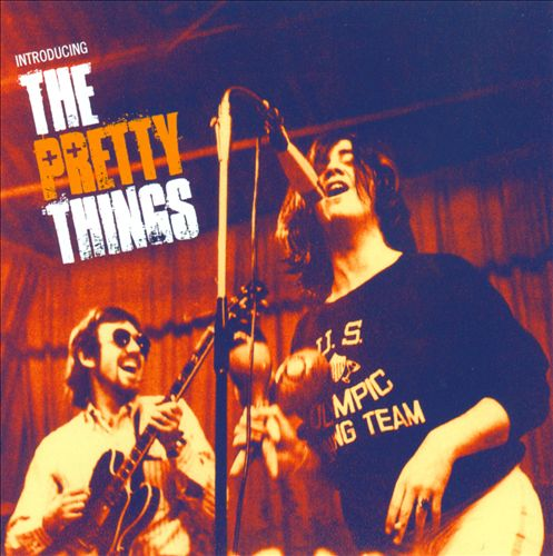 Pochette de l'album Introducing The Pretty Things.