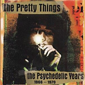 Pochette de l'album The Psychedelic Years.