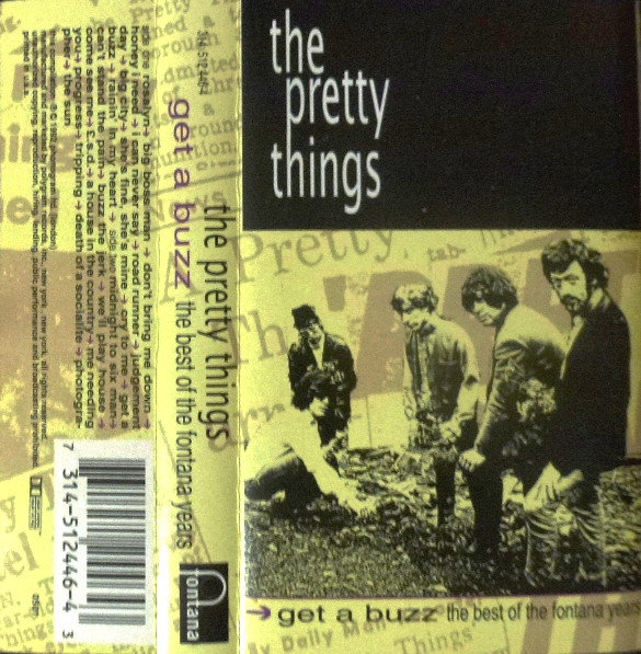 Pochette de la cassette Get a Buzz: The Best of the Fontana Years.
