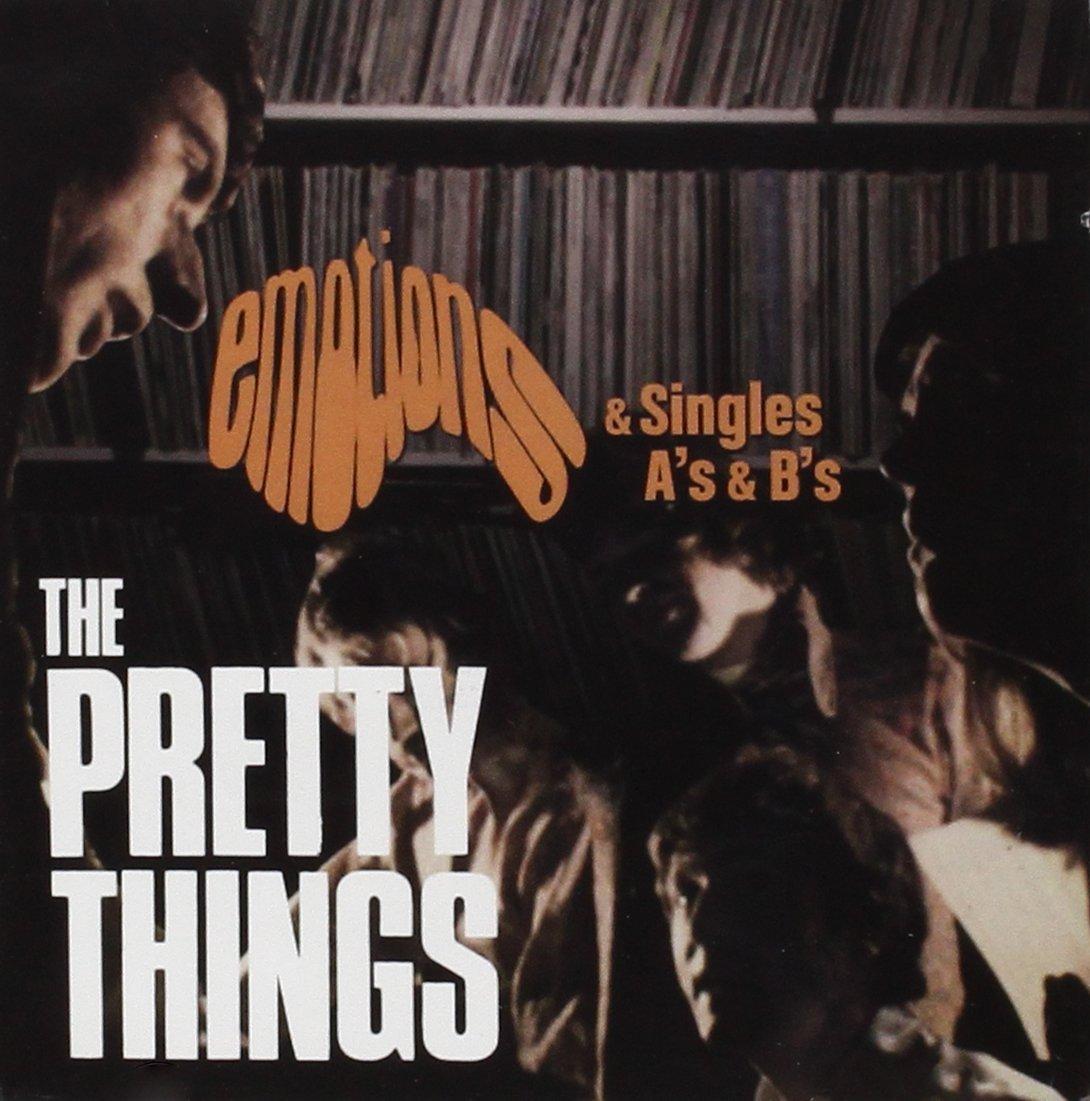 Pochette de la compilation Emotions and Singles A's & B's.
