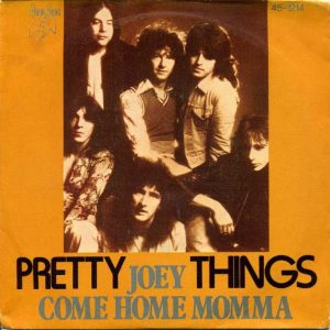Pochette du 45 tours Joey / Come Home Momma.