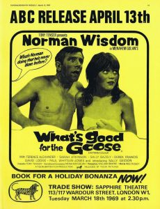 Publicité du film What's Good for the Goose.