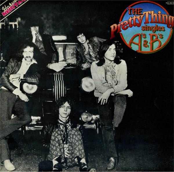 Pochette de l'album The Pretty Things Singles A's & B's