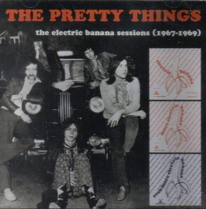 Pochette de la compilation The Electric Banana Sessions