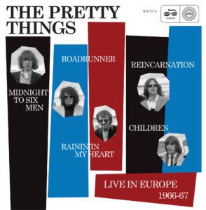 Pochette de l'EP Live in Europe 1966–67