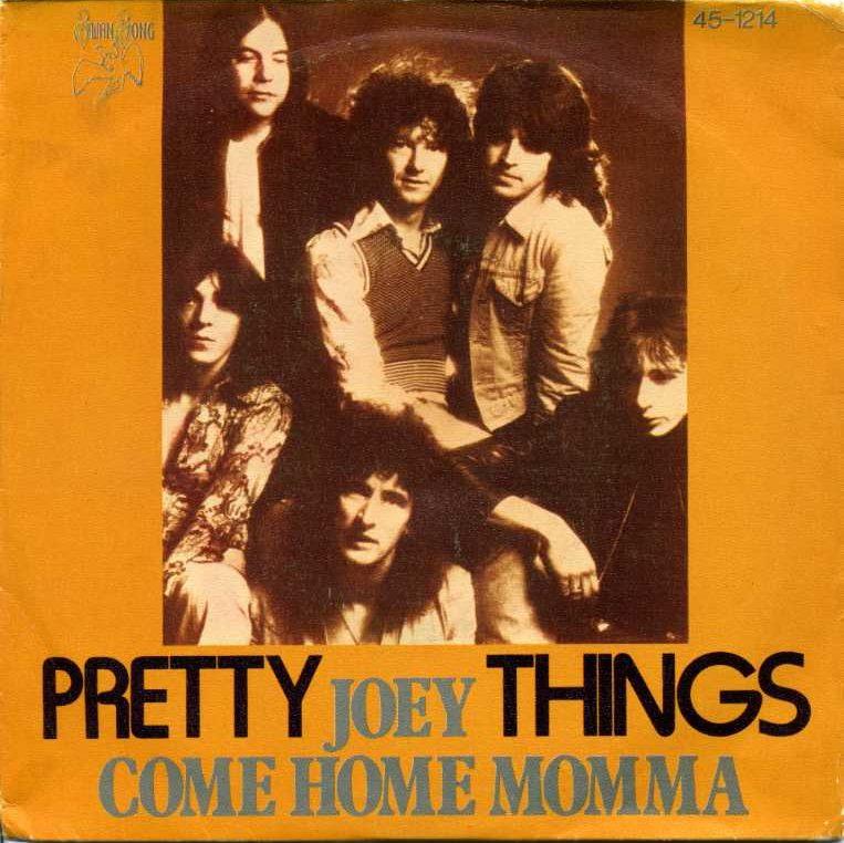 Pochette du 45 tours Joey / Come Home Momma.