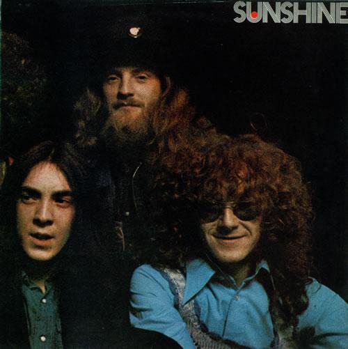 Pochette de l'album Sunshine.