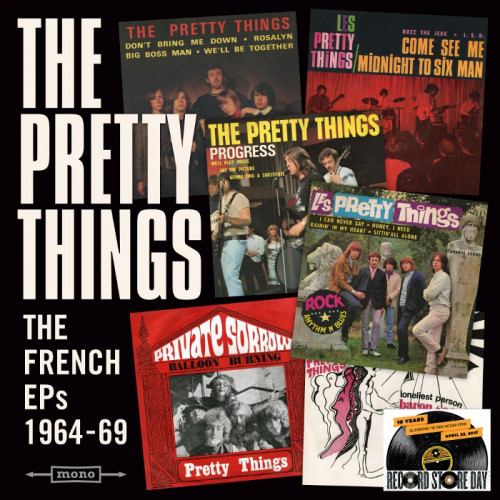 Pochette de l'album The French EPs 1964-69
